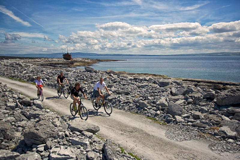 cycling Aran Islands