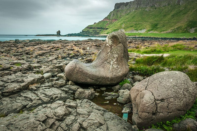 Giant Causeway Boot In Northern Ireland