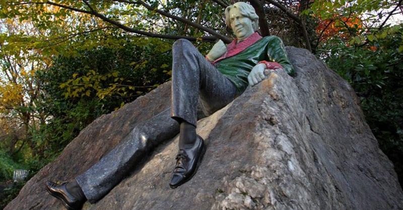 Dublin Statues Oscar Wilde