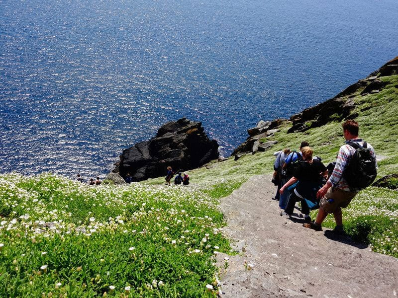 Skellig Michael in August