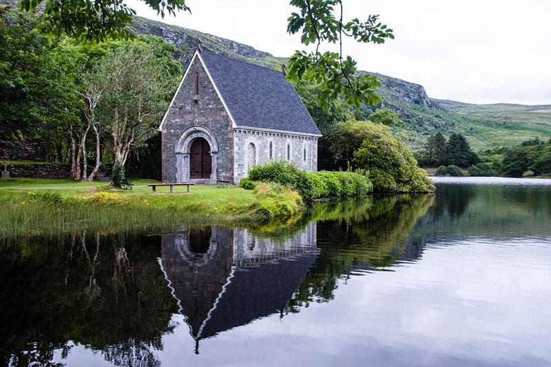 ireland cloudy gougane barra