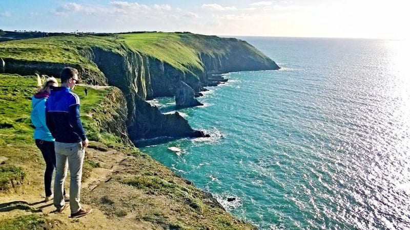summer cliffs Cork