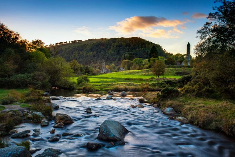 stream in Glendalough