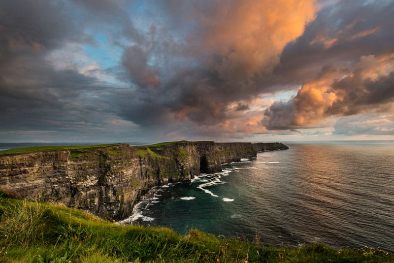 The Burren National Park: The Cliffs of Moher