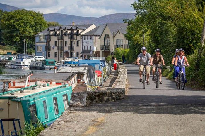 Cycling around Graiguenamanagh
