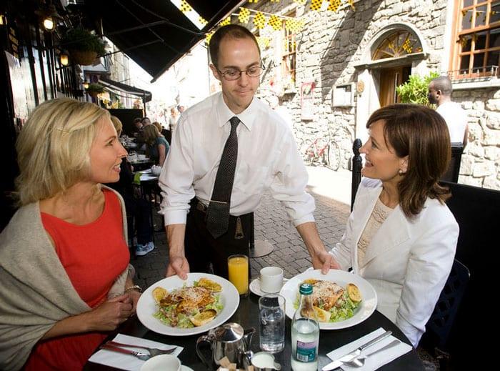 Kilkenny outdoor dining